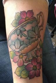小清新文藝紋身 男生手臂上小清新文藝紋身圖片