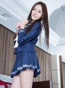 亞洲美女模特Ning絲襪美腿誘惑寫真