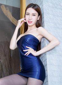 亚洲美腿模特Stephy傲人身姿细长美腿