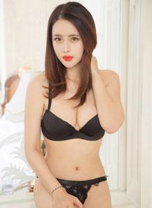新晉嫩模劉姍姍黑絲比基尼情趣內衣大尺度誘惑