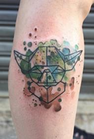 乌龟纹身图案 多款素描纹身彩绘乌龟纹身图案