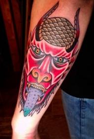 纹身水彩 多款简单线条纹身素描水彩纹身图案