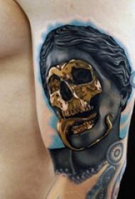 抽象线条纹身  多款特色的抽象线条纹身图案