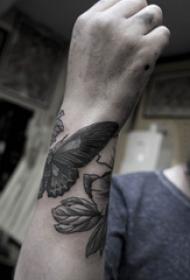 手腕上纹身图案  简单却又格外新颖的手腕上纹身图案