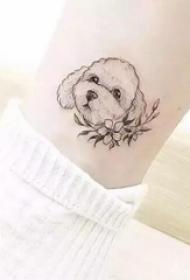狗狗纹身 哪一款设计是你喜爱的