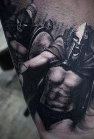 鐵血戰士紋身  驍勇善戰的鐵血戰士紋身圖案