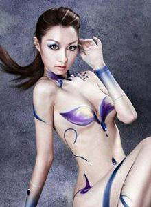 泰国性感美女COSPLAY伏魔者人体艺术摄影
