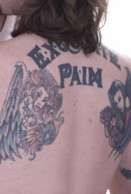 女孩人物纹身图案  魅力十足的人物纹身图案