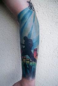 手臂纹身图片   创意多彩的手臂纹身图案
