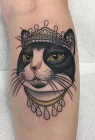 小猫咪纹身   多款时髦而又心爱的小猫咪纹身图案