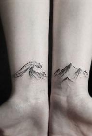 纹身小巧  清新而又靓丽的小巧纹身图案