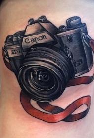 照相机纹身   摄影爱好者奇趣的照相机纹身图案