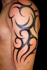 手臂纹身图片   色调沉闷却创意十足的手臂纹身图片