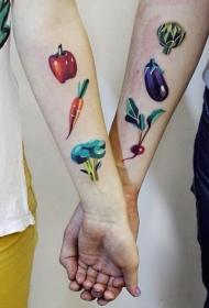 食物纹身   美味的食物纹身图案