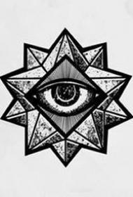 眼睛纹身手稿_27张关于眼睛纹身手稿图案欣赏