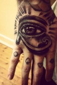 眼睛纹身  炯炯有神的眼睛纹身图案