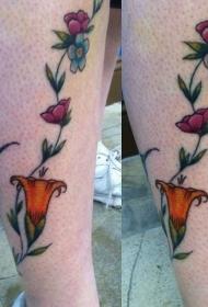 纹身图案花朵   多款芬芳扑鼻的花朵纹身图案