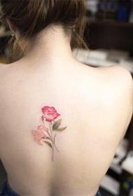 小清新紋身  唯美的小清新紋身圖案