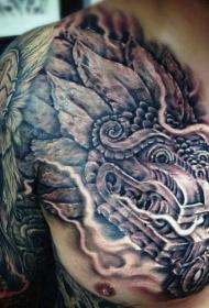 部落图腾纹身   多款霸气十足的部落图腾纹身图案