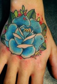 手部纹身图   创意百变的手背纹身图案