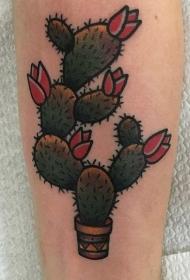 传统纹身 彩色的传统纹身动物和花朵和英文纹身图案