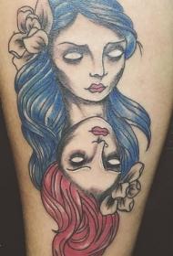 纹身双子座  创意而又别致的双子座纹身图案