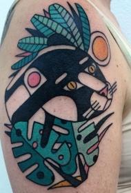 小动物纹身  生动活泼的小动物纹身图案