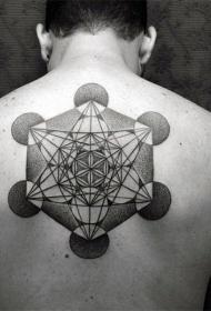 背上的纹身图案   多款特性实足的背上纹身图案
