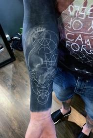男性時尚紋身   多款男生手臂上的時尚紋身圖案