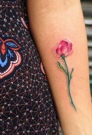 植物紋身  創意的花朵紋身圖案