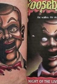 鬼怪纹身图案 多款彩绘纹身的鬼怪纹身图案