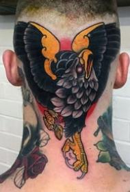 男性頭部紋身_10張個性的男士頭部紋身圖案作品欣賞