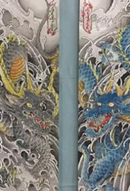 传统风格手稿-风味十足的传统风格手稿图案