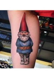小矮人纹身图案_10张生动逼真的小矮人纹身图案作品