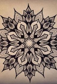 曼陀罗梵花手稿-9张好看标曼陀罗梵花手稿图片