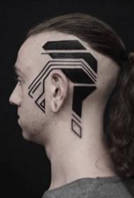科幻感纹身-来改过西兰纹身艺术家的将来主义纹身图