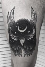 酷炫纹身图案-9张好看的酷黑纹身图片
