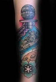 战舰纹身图案_10张关于战舰纹身图案作品图片