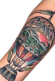 old school风格的纹身图案-纹的干净利落的纹身图片