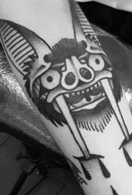 蝙蝠纹身图案-10张迅猛而又精准的蝙蝠纹身图案
