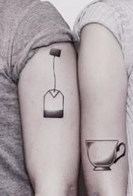 一组情侣合适的创意小清爽纹身图案观赏