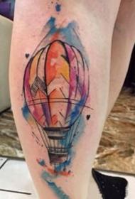 一组好看的漂亮水彩小图纹身图案图片欣赏