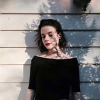 歐美女生個性頭像圖片
