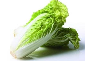 绿色新鲜无公害的大白菜图片