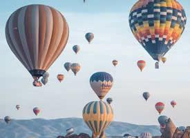 土耳其 Cappadocia 热气球  美景图