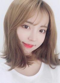 韩式半熟气质中长发风格图片