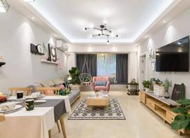 90平米溫馨兩居室北歐風格裝修效果圖 ????