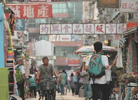 旧时繁华的香港街景图片欣赏