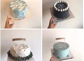 36款ins风生日蛋糕图片