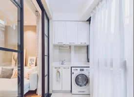 陽臺洗衣房也可以做的漂亮好看